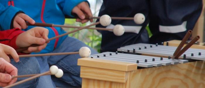 Unterhaching, Musik im Kindergarten Froschkönig