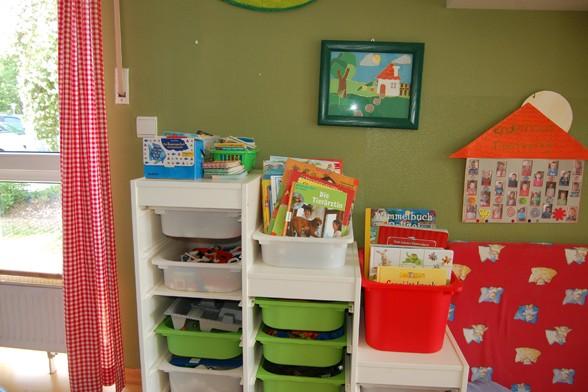 Eindrücke vom Gruppenraum – Kindergarten Froschkönig Unterhaching
